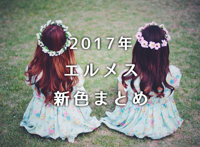 super popular 1d43a daf9b 2017年エルメスの新色は?春夏&秋冬すべてご紹介!